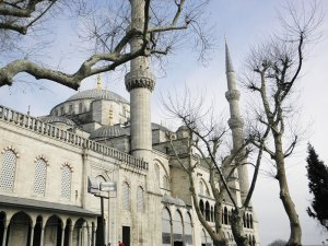 The Blue Mosque has six minarets, instead of the usual fourThe Blue Mosque has six minarets, instead of the usual four